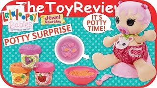 getlinkyoutube.com-Lalaloopsy Babies Potty Surprise Doll Unboxing Toy Review by TheToyReviewer