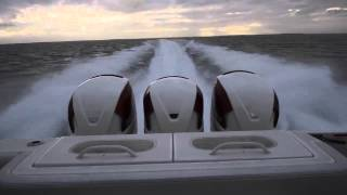 getlinkyoutube.com-HydraSports Custom 42SF withTriple Seven Marine 557s