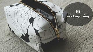 getlinkyoutube.com-DIY: Makeup Bag