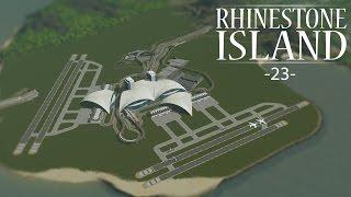"getlinkyoutube.com-Cities Skylines - Rhinestone Island [PART 23] ""Airport Infrastructure"""