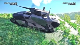 getlinkyoutube.com-FNSS - Kaplan 20 New Generation Tracked Armoured Fighting Vehicle Simulation [1080p]