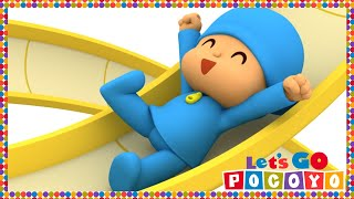 getlinkyoutube.com-Let's Go Pocoyo! - Up And Down [Episode 38] in HD