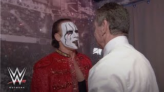 getlinkyoutube.com-WWE Network: See what went on backstage between Triple H, Sting and Mr. McMahon on WrestleMania 24