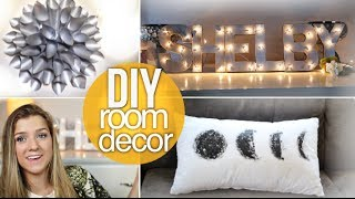 getlinkyoutube.com-DIY Summer Room Decor ☼ Cheap & Cute!