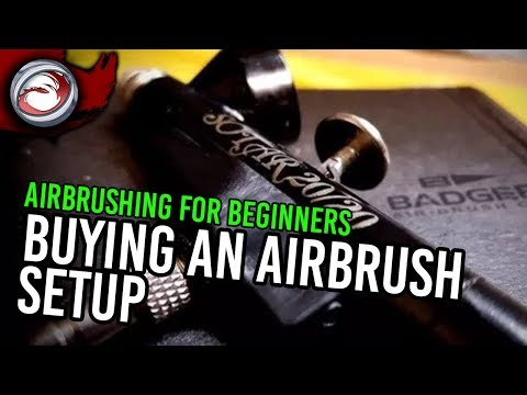 Airbrushing for the Beginner #1: Buying an Airbrush Setup