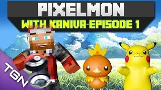 getlinkyoutube.com-Minecraft Pixelmon 3.0.1 - Episode 1 - Goodbye Pallet Town