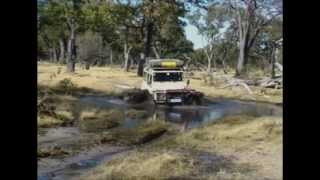 getlinkyoutube.com-4x4 Trekking in Africa (Part 1 Highway travel and Botswana and Namibia)