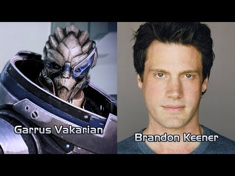 Mass Effect 3 - Characters and Voice Actors