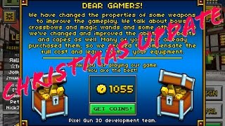 "getlinkyoutube.com-Pixel Gun 3D ""Christmas Update Free Coins"" (iOS/Andriod)"