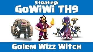 getlinkyoutube.com-Clash of Clans - Strategi GoWiWi TH9 | Serangan War Gowiwi TH9 [Indonesian]