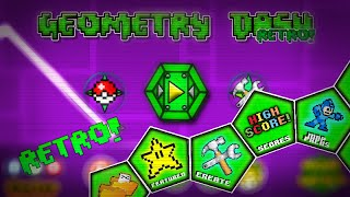 getlinkyoutube.com-TEXTURE PACK RETRO - Geometry Dash 2.01 Retro Texture Pack | Rodriguez GD