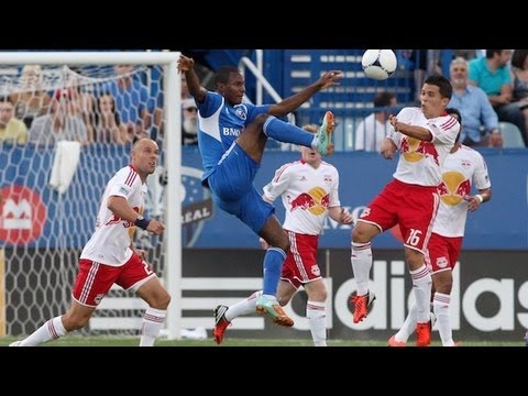 HIGHLIGHTS: Montreal Impact vs New York Red Bulls, July 28th, 2012