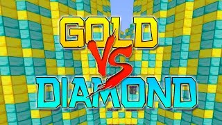 getlinkyoutube.com-FREEZING COLD POOL! Minecraft: Gold vs Diamond ULTIMATE Parkour Challenge!