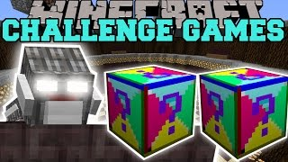 getlinkyoutube.com-Minecraft: CYCLOPS GOLEM CHALLENGE GAMES - Lucky Block Mod - Modded Mini-Game