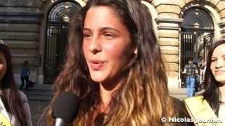 getlinkyoutube.com-Exclusif : Coralie de Secret Story 9 en 2013 au Parlement miss Belgique