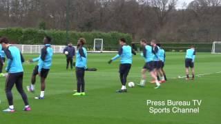getlinkyoutube.com-Tottenham Training pre Tottenham vs Gent