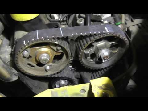 Renault Kangoo 1.5dCi Замена ремня ГРМ. Двигатель Renault K9K 1.5 dci.