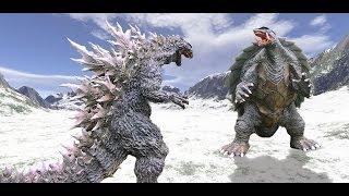 getlinkyoutube.com-Godzilla vs Gamera Trailer Fanmade