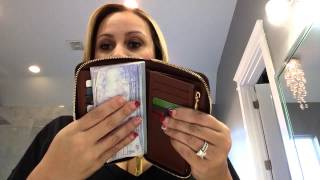 getlinkyoutube.com-Comp video of the Louis Vuitton zippy compact wallet and the Louis Vuiton compact Curieuse wallet!