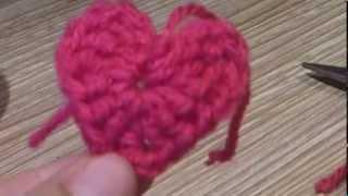getlinkyoutube.com-¿Cómo tejer un corazón a crochet?