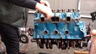 Olds 455 build part 3
