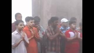 getlinkyoutube.com-Shivprarthana / Shlok by Shivpratishthan members - Shivrajyabhisek celebrations on Raigad