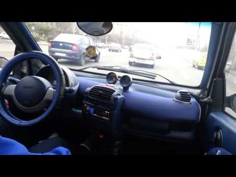 Smart fortwo drive in bucharest