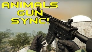 getlinkyoutube.com-ANIMALS GUN SYNC! - CS:GO