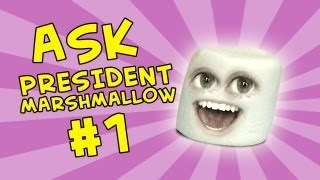 getlinkyoutube.com-Annoying Orange - Ask President Marshmallow #1