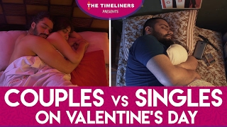 Couples vs Singles On Valentine's Day | The Timeliners width=