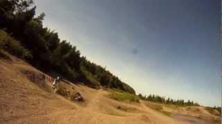 getlinkyoutube.com-GoPro - Dirt Bike Jump Session - Helmet Mount + Handle Bar Mount
