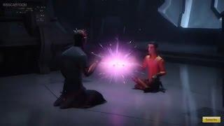getlinkyoutube.com-Darth Maul & Ezra sense's Luke & Obi Wan and the end of the Sith