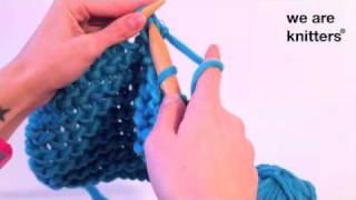 getlinkyoutube.com-Aprender a tejer: ¿Cómo tejer cuellos y tirantes de lana?