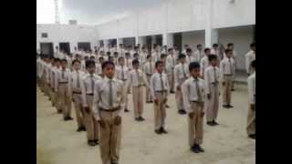 getlinkyoutube.com-PT EXERCISE DURING ASSEMBLY COL. MUHAMMAD SHER SCHOOL M.T.mp4
