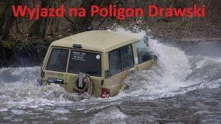 getlinkyoutube.com-Off road 4x4 Patrol GR Y60 Nissan Power na Poligonie Drawskim full power extreme ride