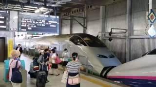 getlinkyoutube.com-山形新幹線 E3系『つばさ』 仙台駅発車 【2016/8/2】