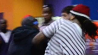 Waka Flocka Fight -- Rapper Takes Haymaker to the Face!