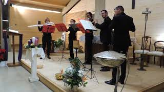 J.S.Bach: Italian Concerto BWV 971 - Andante (Flute Choir)