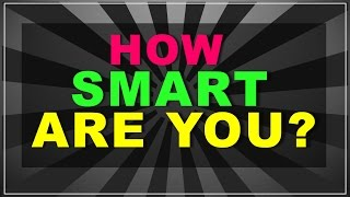 getlinkyoutube.com-90% people fail!! (How smart are you? - test with answers)