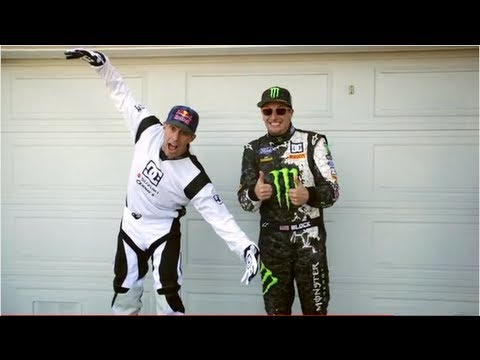 DC SHOES: KEN BLOCK'S GYMKHANA FIVE; TEASER 2, BLOCK VS PASTRANA