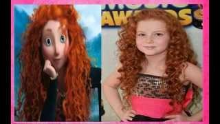 getlinkyoutube.com-Artistas de Disney y Nick parecidas a las Princesas