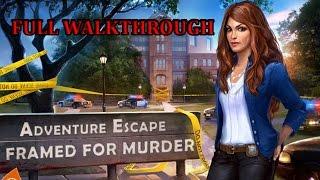 getlinkyoutube.com-ADVENTURE ESCAPE Framed for Murder Full Walkthrough