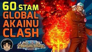 getlinkyoutube.com-Walkthrough for Global Akainu 60 Stamina Clash (Free To Play) [One Piece Treasure Cruise]