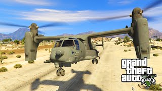 getlinkyoutube.com-GTA 5 PC Mods - VTOL WARSHIP HELICOPTER MOD!!! GTA 5 Mod Funny Moments Gameplay!
