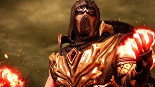 getlinkyoutube.com-Mortal Kombat X - Scorpion Injustice Costume Ladder Walkthrough and Ending