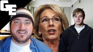 getlinkyoutube.com-Betsy DeVos' School Vouchers and Public Education w/ Zack Kopplin || Interview