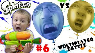 getlinkyoutube.com-Lets Play SPLATOON Part 6:  POP BALLOONS BATTLE! (FGTEEV MULTIPLAYER ACTION)