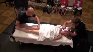 getlinkyoutube.com-Tandem- massage ( 4 hands).