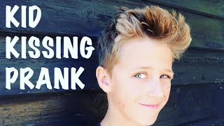 getlinkyoutube.com-11 YEAR OLD PICKING UP GIRLS! KISSING PRANK - KID EDITION