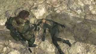 getlinkyoutube.com-Metal Gear Solid 5 Phantom Pain - Big Boss Vs. Quiet (Sniper Wolf) Extreme Mode